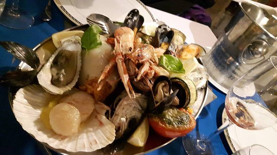 Corse : Seafood platter
