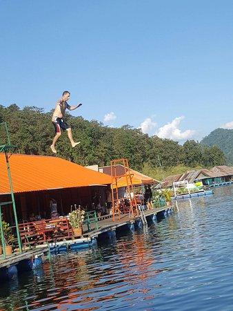 The Mae Ngat Dam & Reservoir: Jump