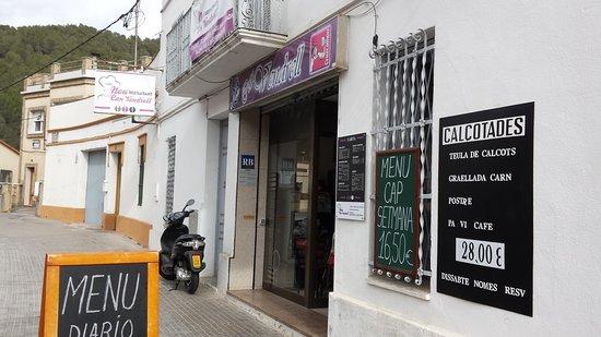 Sant Climent de Llobregat, İspanya: Entrada.