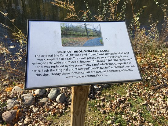 Macedon, Nowy Jork: Butterfly Nature Trail - history markers