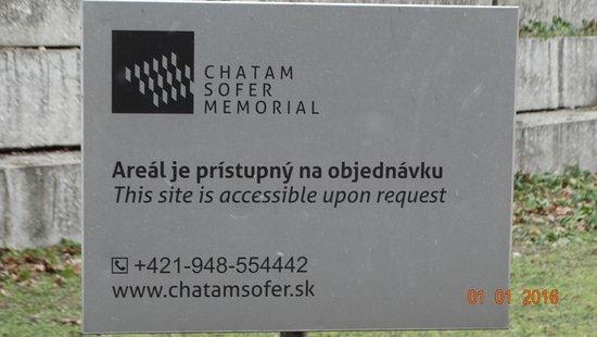 Chatam Sofer Memorial Photo