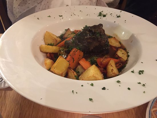 Courtown, Ireland: Beef Cheeks