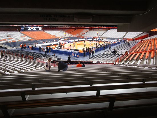 Carrier Dome Pre Game 4 Picture Of Carrier Dome
