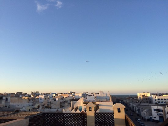 Riad Chbanate: View from the top terrace