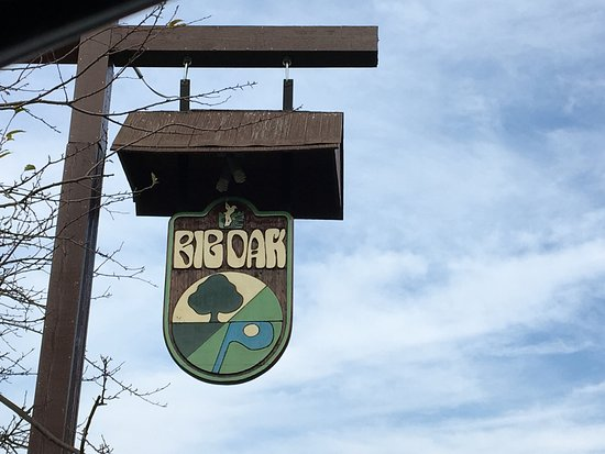East Rochester, NY: Big Oak - sign out front