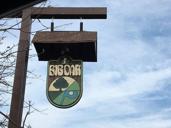 East Rochester, Nova York: Big Oak - sign out front
