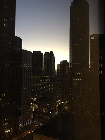 The Ritz-Carlton, Chicago: City view from our room.