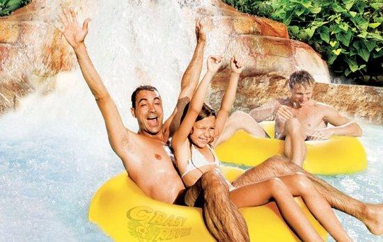 Lazise, Italien: Caneva Aquapark Crazy River