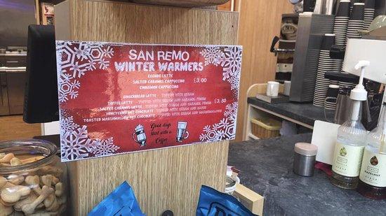 Iver, UK: Winter warmer menu!