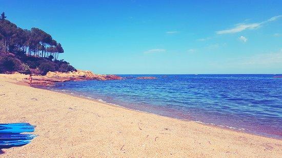 Santa Maria Navarrese, อิตาลี: toller feinkiesiger Strand