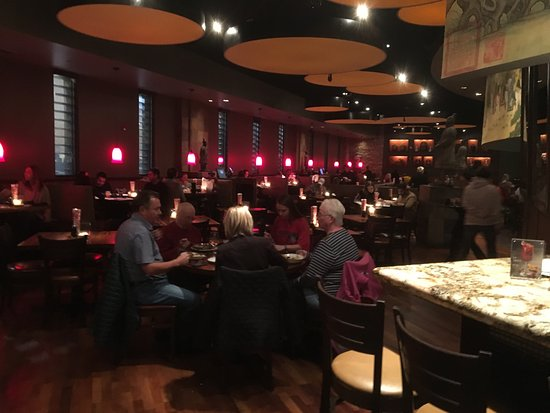 Victor, NY: PF Chang's - dining room