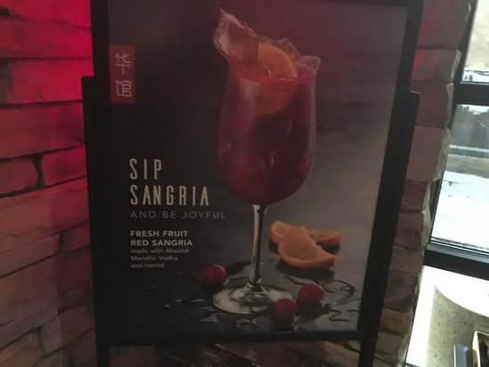 Victor, NY: PF Chang's - sangria for sale!