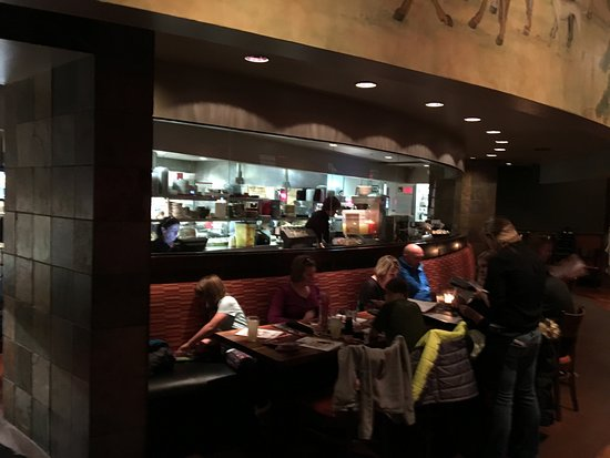 Victor, NY: PF Chang's - the kitchen (open for viewing)