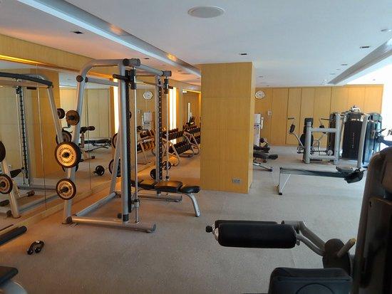 Gym picture of hyatt regency hong kong sha tin