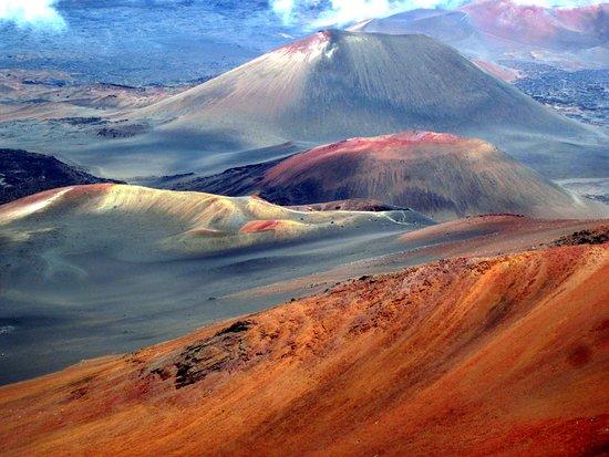 Parco nazionale di Haleakala, HI: The interior of the volcano