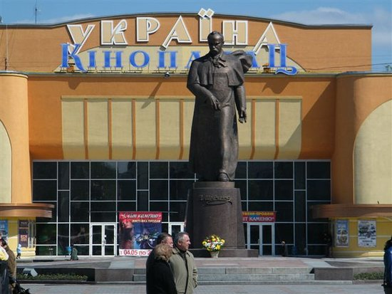 Monument to T.G. Shevchenko