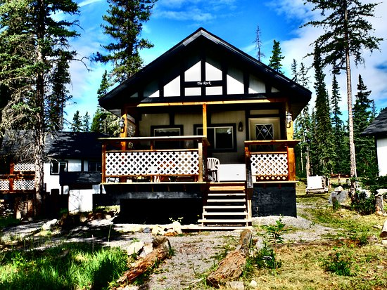 Nordegg, Canada: The Rock cabin