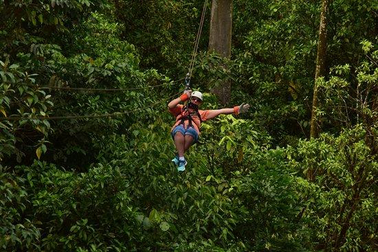 Braulio Carrillo National Park, Costa Rica: The fun begins!