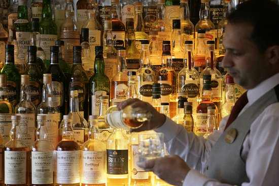 The Marcliffe Hotel and Spa: Drawing Room Malt Whisky Selection