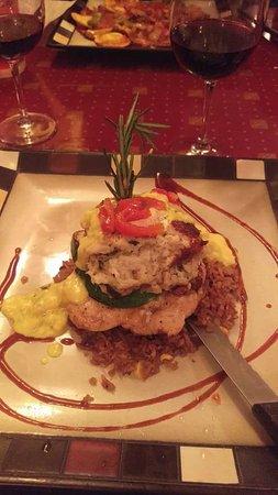 Palmyra, PA: Special Menu item - Chicken dish with hollandaise sauce