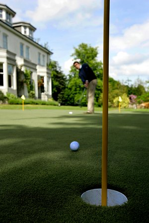 The Marcliffe Hotel and Spa: The Putting Green