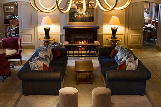 The Marcliffe Hotel and Spa: The Foyer
