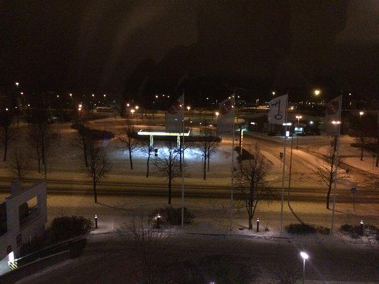Joensuu, Finlandia: Vista hotel