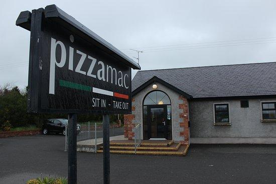 Omagh, UK: Pizzamac