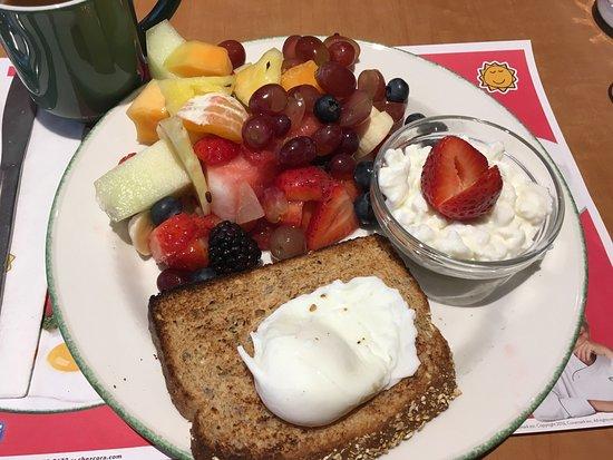 Cora's : Coras fruit breakfast.