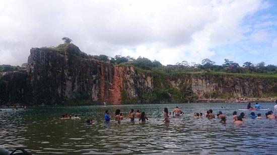 Lagoa Azul : Banho