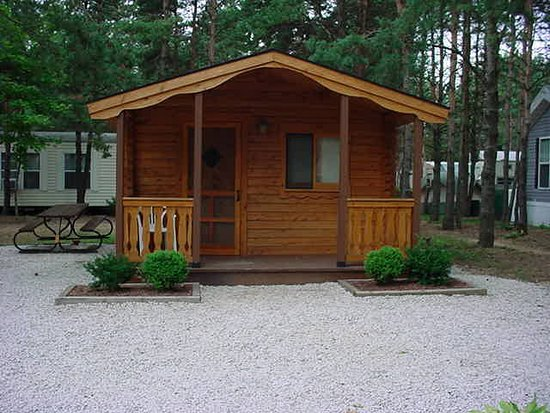 Hopkins, MI: Rental Rustic Cabin