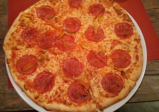 Jozefow, Pologne : pizza