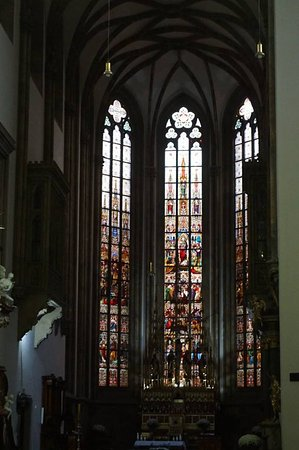 Cathedral of St. Peter and St. Paul: wonderful stained glass