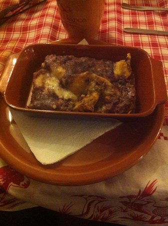 Cave, Italia: lasagne alle verdure