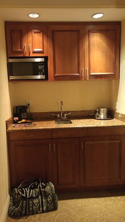 Kitchenette.... - Picture of San Carlos Hotel, New York City ...