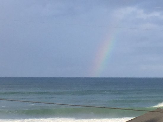 Pana Sea Ah Bed and Breakfast: Finished with a rainbow for dessert