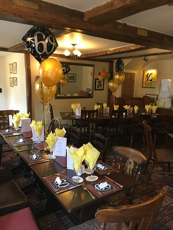 The Saxon Inn: My 60th Birthday party - great venue for an event