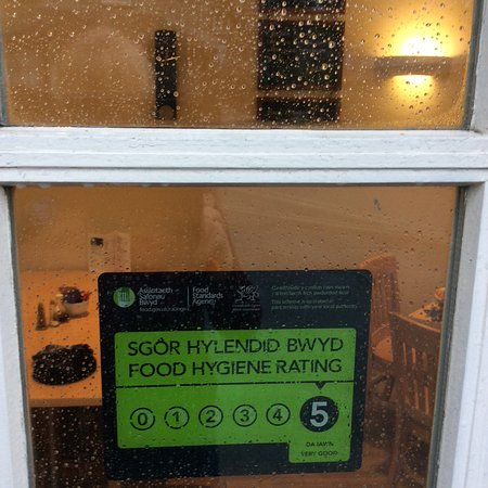 Dyffryn Ardudwy, UK: 5* Hygiene Rating recently secured