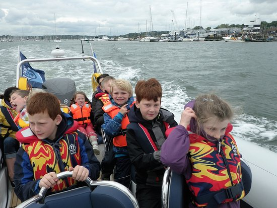 Beaver trip from Hamble