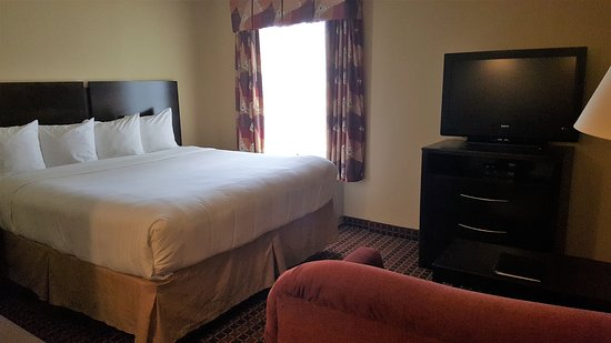 MainStay Suites Rogers: Spacious King Sized Bedroom Suites
