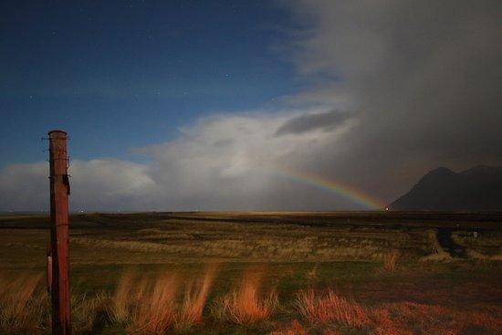 Hafnarfjordur, أيسلندا: A very rare Moon Bow captured on our Northern Lights Search.