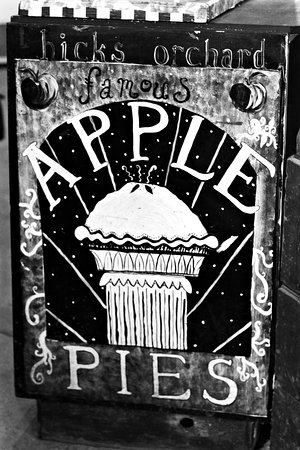 Granville, NY: One of the many vintage signs on display