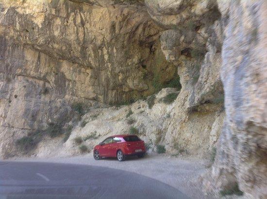 Moustiers Sainte-Marie, Francia: Вердонское ущелье