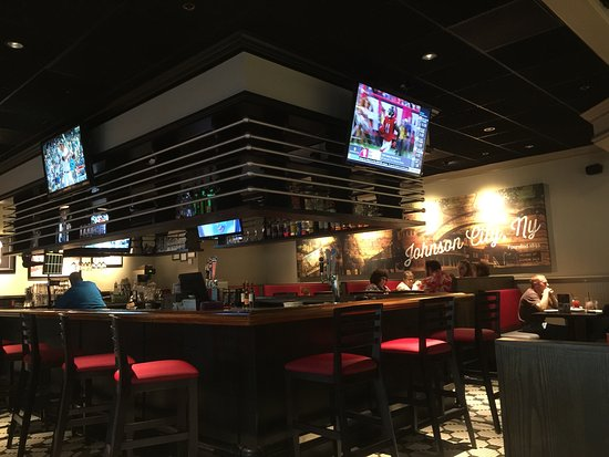 Johnson City, État de New York : The bar