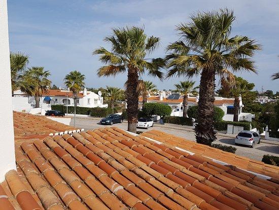 Monte Carvoeiro: View from Master Bedroom Balcony