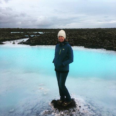 Grindavik, Island: Walking Path Blue Lagoon Iceland