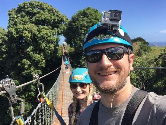 Hakalau, HI: On the bridge