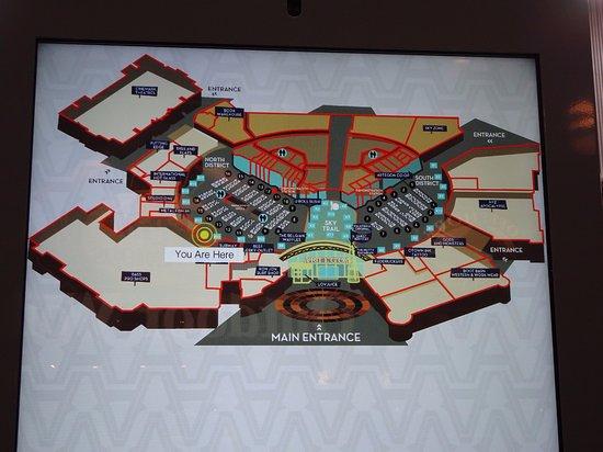 Mall map Picture of Artegon Marketplace Orlando TripAdvisor