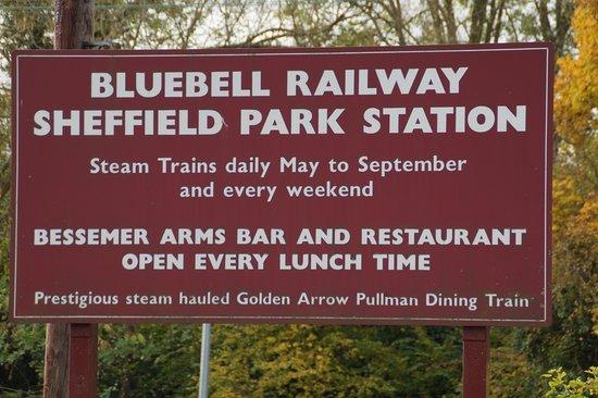 Uckfield, UK: Eingangsschild