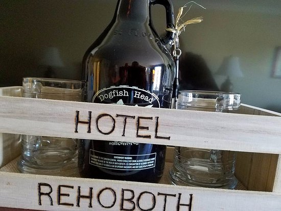 Hotel Rehoboth: Dogfish Head Brewery Tour
